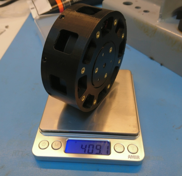 Gearbox plastic test article