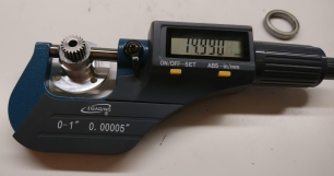 Sun gear holder input bearing interface, post-machined